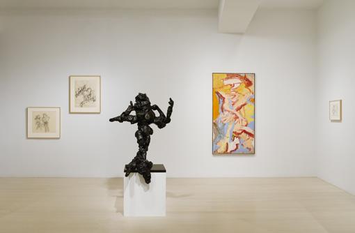 De Kooning installation photograph