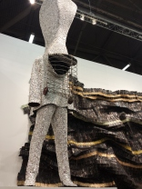 I absolutely love Nick Cave and El Anatsui!