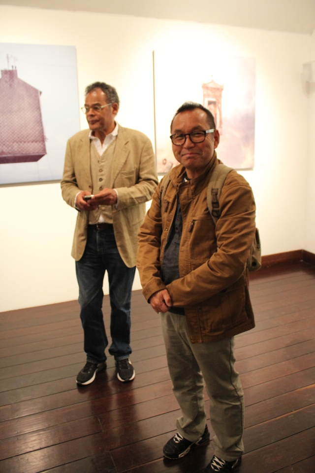 Kevin O'Connor and Hiroshi Watanabe @ Laurent Chéhère's opening