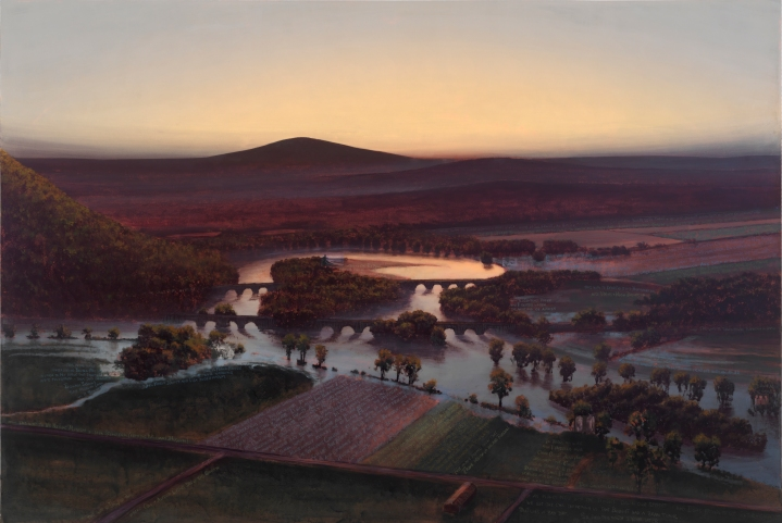 The Oxbow, Flooded, for Frank Moore and Dan Hodermarsky