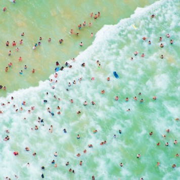 "Gray Malin, ""Coogee Wave"", archival ink jet print on ultra premium luster paper"