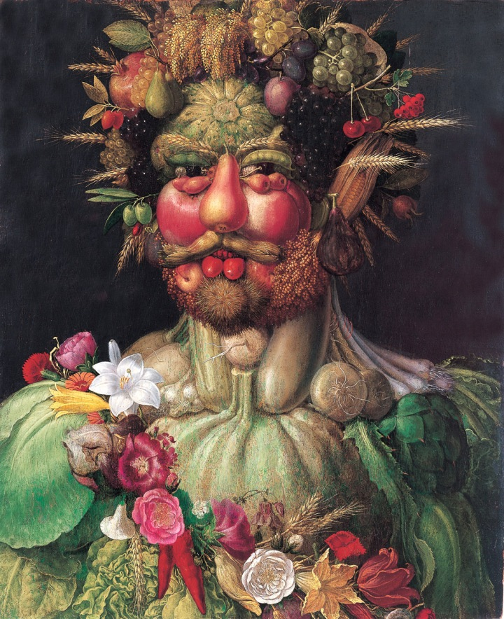 Arcimboldo_Vertumne (Rodolphe II) (~ 1590)
