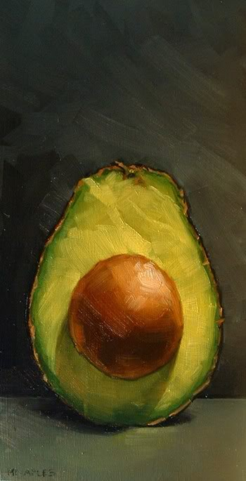 AvocadoHalfPart2Michael Naples, 4x8inch