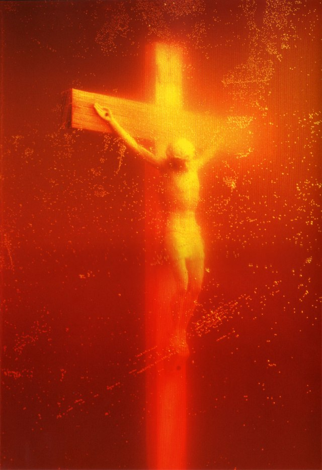 "Andres Serrano: ""Piss Christ"" 1987, Archival print on paper"