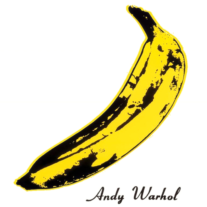 warhol-banana-copyright_Andy designed for the band's debut album, when he managed them in 1966_velvetunderground