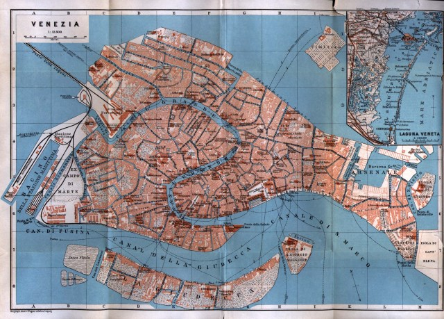 Venezia-Venice-Map-Italy-1913