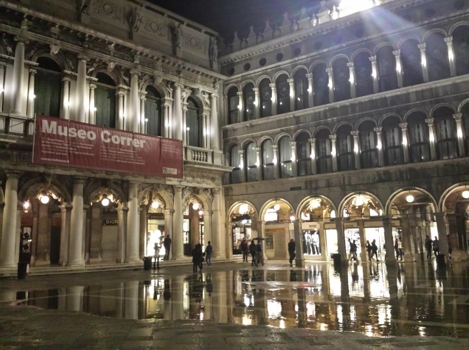 Piazza San Marco in the rain.