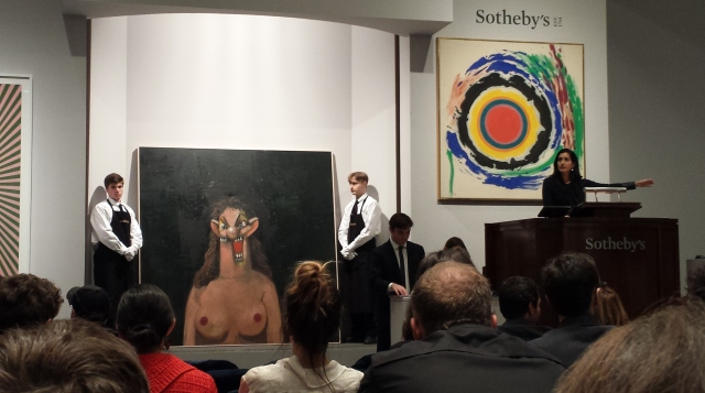 Contemporary Art Auction at Sotheby's, November 12th 2015