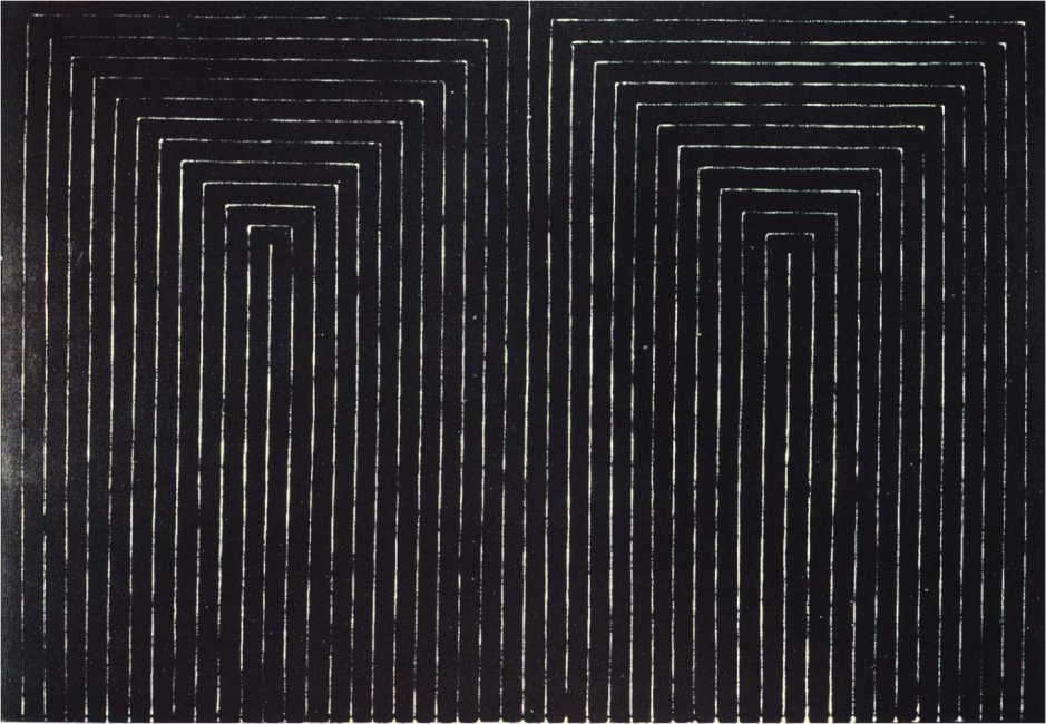 The Marriage of Reason and Squalor, II, Frank Stella, 1959