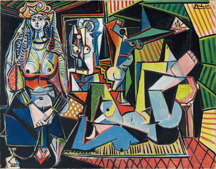Picasso, Les femmes d'Alger (Version 'O'), 1955. Price Realized: $179,365,000. Courtesy of Christie's Images ltd. 2015.